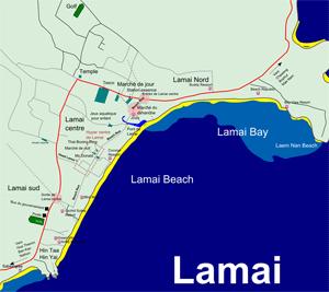 Lamai à Koh Samui Thaïlande