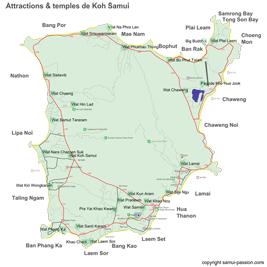 Les 25 temples de Koh Samui